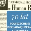 70-ta rocznica POWSZECHNEJ DEKLARACJI PRAW CZŁOWIEKA
