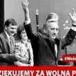 Dziękujemy za wolną Polskę.